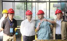 杭州市市长张鸿铭一行莅临胜博发266胜博发手机版官网考察